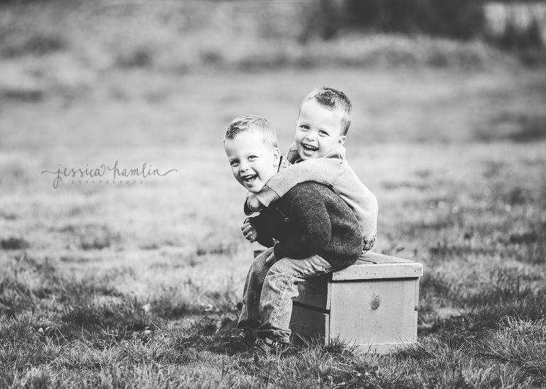 identical twin boys